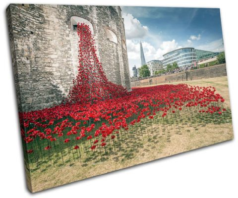 Tower of London Poppies City - 13-2361(00B)-SG32-LO